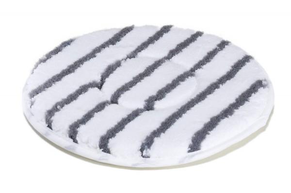 Mikrofaserpad Härte 3 graue Padstreifen